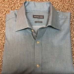 Michael Kors shirt.  Slim Fit.  Large 16-34/35